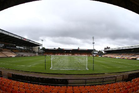 Stags are at Port Vale this afternoon.