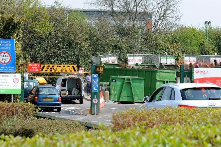 The county council's 12 recycling centres will all be open for most of the festive period.