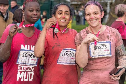The pretty muddy race is one of the events you can enter. Photo: Dale Martin.