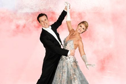 Anton Du Beke and Erin Boag (Photo by Richard Haughton)