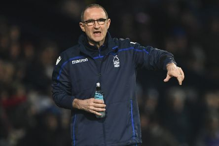 Manager Martin O'Neill, whose Forest side were robbed of two vital away wins, according to our blogger, Steve Corry. (PHOTO BY: Stu Forster/Getty Images)