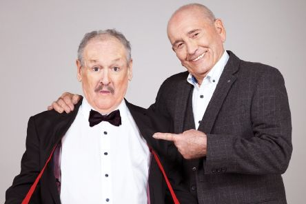 Tickets are up for grabs to see comic legends Cannon And Ball at Mansfield's Palace Theatre