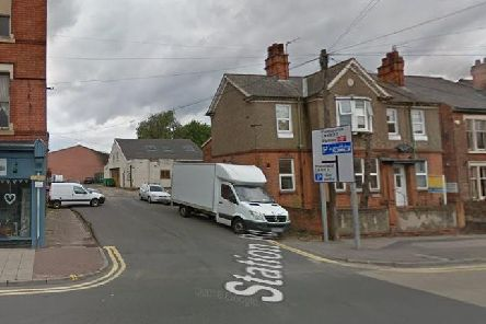The junction of Parker Street and Station Road