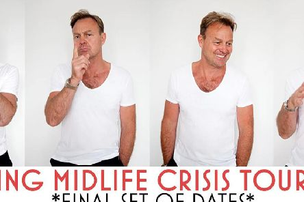 Jason Donovan will be bringing his one-man show to Mansfield next month.