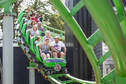 A theme park is offering free entry this weekend - but there's a catch