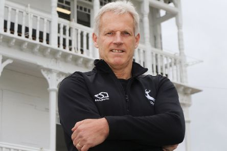 Nottinghamshire head coach Peter Moores