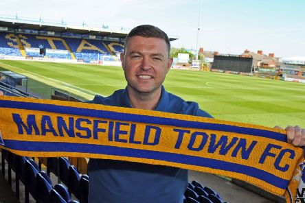 John Dempster, Mansfield Town manager.