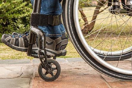 A disabled woman was robbed in Nottinghamshire on Friday. Stock image.