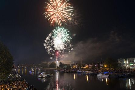 A spectacular fireworks display will be one of the highlights of the festival