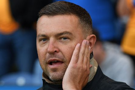 Picture: Andrew Roe/AHPIX LTD, Football, Sky Bet League Two, Mansfield Town v Leyton Orient, One Call Stadium, Mansfield UK, 20/08/19, K.O 7.45pm''Mansfield's manager John Dempster'Howard Roe>>>>>>>07973739229