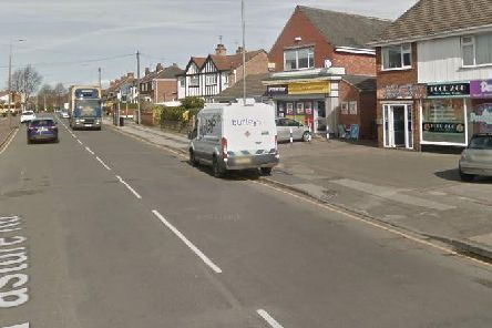 The incident occurred on Pasture Road, Stapleford