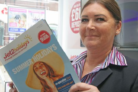 Former Thomas Cook employee Diane Lisney has landed a new job with Co-operative Travel in Ilkeston.