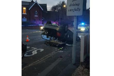 This pic was tweeted by @DerbyshireRPU.