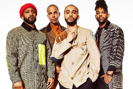 JLS are performing at FlyDSA Arena, Sheffield.