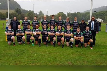 Ilkeston Elks line up for the camera at the start of the 2018/19 season.