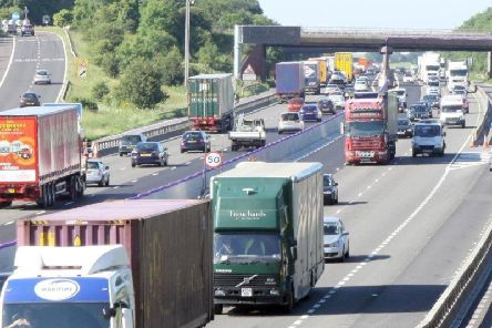 Protests could cause disruption to traffic on the M1 in Derbyshire