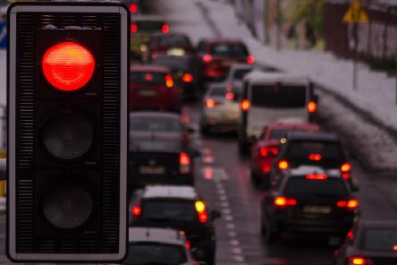 Check out the traffic and travel in your area.