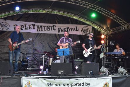 Ripley Music Festival main stage.