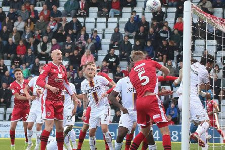 Morecambe lost at home to Bradford City last time out
