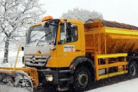 Minor routes in Lancashire could be treated by volunteers, while gritting wagons stick to the main roads