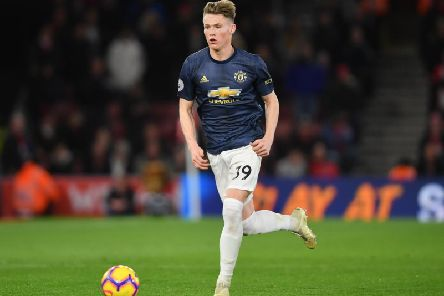 Manchester United's Scott McTominay has come through the ranks at Old Trafford. Picture: Getty Images