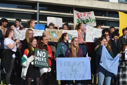Lancaster students strike over climate inaction