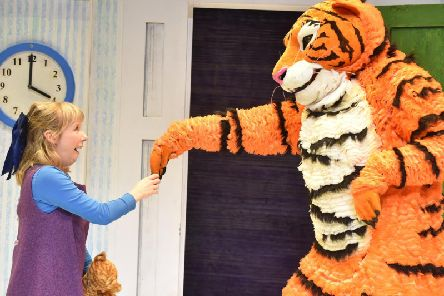 The Tiger who came to tea at The Dukes Theatre, Lancaster