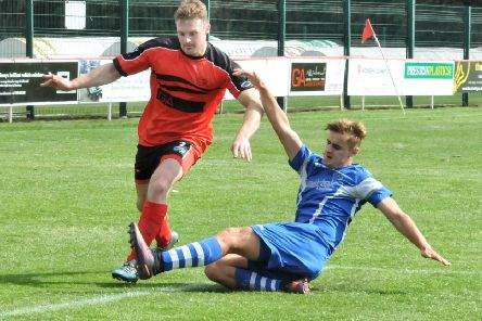 Jake Salisbury made a welcome return to the Garstang squad at the weekend
