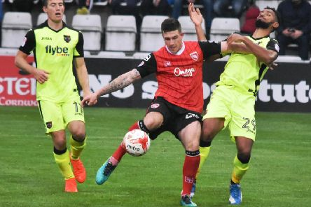 Cole Stockton has joined Morecambe for a second spell