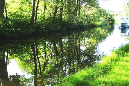 A scene from the Lancaster Canal. Picture by Bob Graham