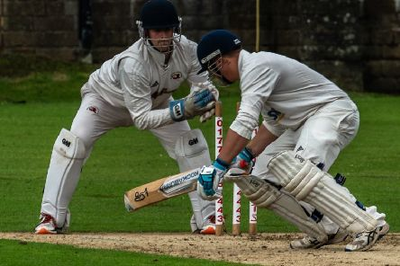 Garstang CC's Matt Crowther     Picture: Tim Gilbert/Preston Photographic Society
