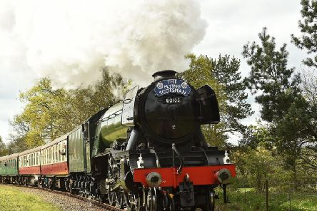 Flying Scotsman is visiting Preston this weekend