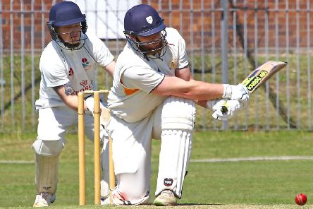 Ryan Pearson hit 51 in full swing. Picture: Tony North.
