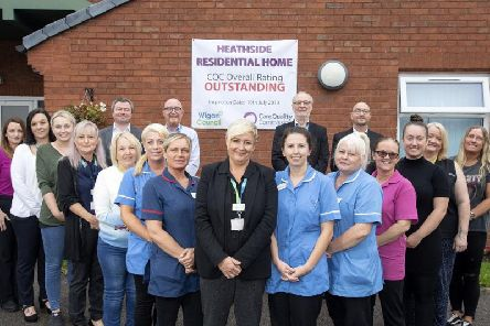 Heathside care home staff