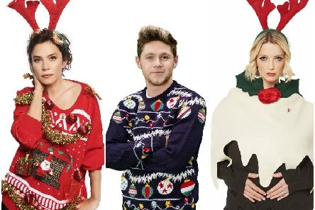 People taking part in Christmas Jumper Day are asked to donate 2, or 1 (if you're at school) to Save the Children.