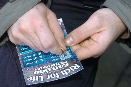 The law currently allows anyone over the age of 16 to purchase a scratchcard