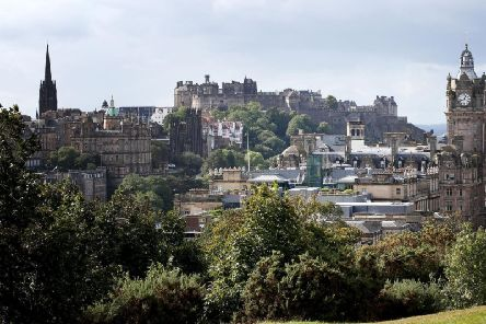 Edinburgh is a magnificent city to visit