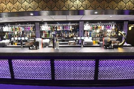 A bar inside the new-look Monaco
