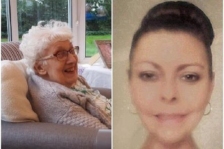 Pictured left; Olive Davies, a gran of six and a great-grandma who passed away in March. Pictured right; Martina Adams.