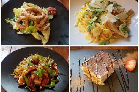 Some of the tested dishes