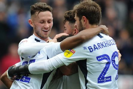 Alan Browne, Ben Pearson (hidden), Sean Maguire and Tom Barkhuizen have come of age this season