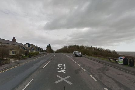 Parbold Hill is currently closed in both directions after a crash involving a lorry involved