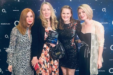 Team LP at the 02 Media Awards
