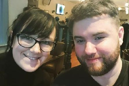Aylif Wilkinson and Gaz Wilson, of Chorley, did Sober October and raised more than 1,300 to be split between Chorley Womens Centre and Lancashire Mind.