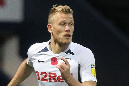 Preston striker Jayden Stockley