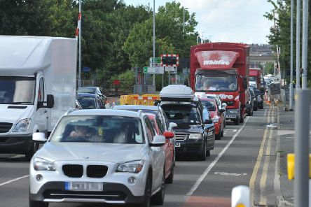 Congestion at Strand Road, Preston
