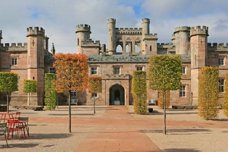 Built at the turn of the 19th century Lowther Castle is now a playground for all. Open every day except Christmas Day, bikes are available for hire