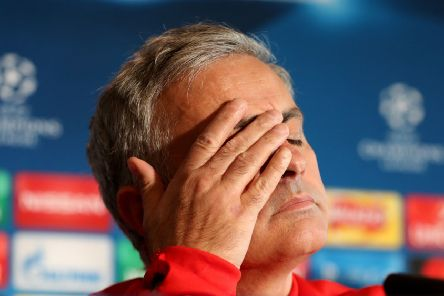 Mourinho had a tough time at Old Trafford