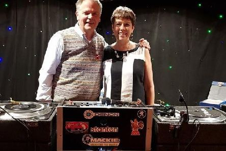Soul DJs Clive Farley andJulie Valentine hosting a 60s vintage party at the Royal British Legion Club in Lostock Hall in aid of the Poppy Appeal.
