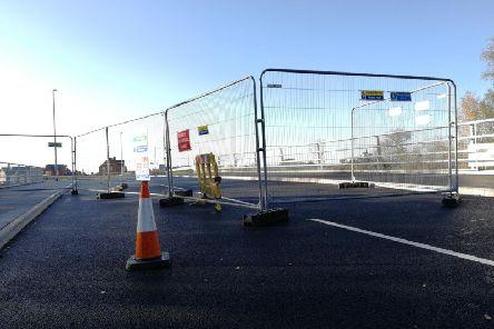 The new road was due to open back in March